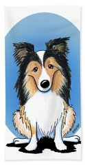 Kiniart Sheltie Bath Towel