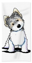 Cosmo Kiniart Petcature Portrait Bath Towel