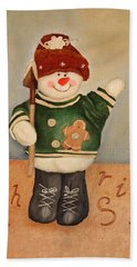 Snowman Junior Bath Towel