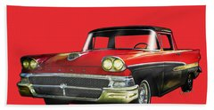 1958 Ford Ranchero 1st Generation Bath Towel