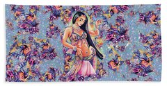 Dancing In The Mystery Of Shahrazad Hand Towel
