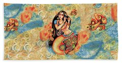 Aanandinii And The Fishes Hand Towel