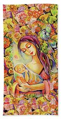 Tree Of Life Hand Towel by Eva Campbell