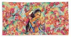 Dancing Of The Phoenix Hand Towel