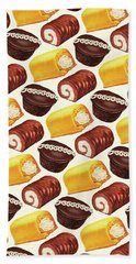 Hostess Cakes Pattern Bath Towel