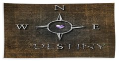 Destiny Hand Towel by Linda Prewer