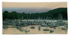 Sunrise Over Mallets Bay Variations - Three Hand Towel