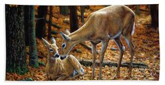 White-tailed Deer Bath Towels