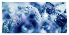 Amethyst Blue Bath Towel by Sharon Mau
