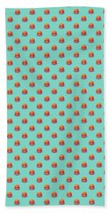 Burger Isometric - Plain Mint Bath Towel