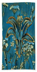 Turquoise Tigerlily  Hand Towel