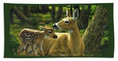 White-tailed Deer Hand Towels
