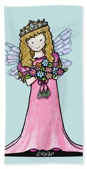 Kiniart Faerie Princess Bath Towel
