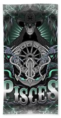 The Fish Pisces Spirit Hand Towel