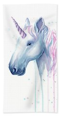 Cotton Candy Unicorn Hand Towel
