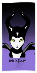 Maleficat Bath Towel
