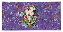 Hands Of India Bath Towel