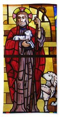Bath Towel featuring the photograph The Good Shepherd by Karen J Shine