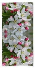 Crabapple Blossoms 12 - Bath Towel