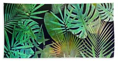 Exotique Leaves Hand Towel