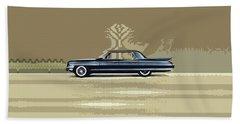 1961 Cadillac Fleetwood Sixty-special Bath Towel