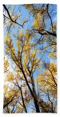 Hand Towel featuring the photograph Looking Up by Bill Kesler