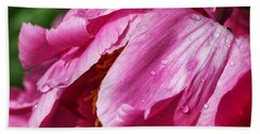 Bath Towel featuring the photograph Pink Delight by Bill Kesler