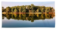 When Nature Reflects Bath Towel by Bill Kesler