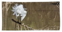 Bath Towel featuring the photograph Fluff Time by Bill Kesler