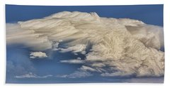 Hand Towel featuring the photograph Cloud Brew by Bill Kesler