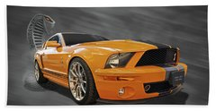 Cobra Power - Shelby Gt500 Mustang Bath Towel
