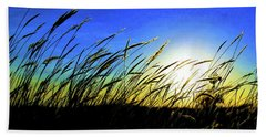 Hand Towel featuring the photograph Tall Grass by Bill Kesler