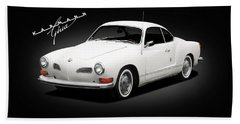 Vw Karmann Ghia Bath Towel