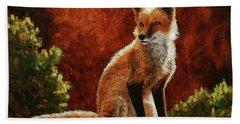 Sun Fox Hand Towel