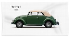 Vw Beetle 1953 Bath Towel