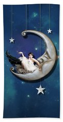 Paper Moon Hand Towel