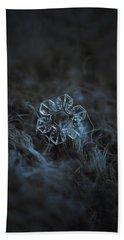 Snowflake Photo - The Core Hand Towel