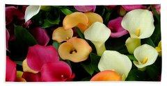 Arum Lilies Hand Towel