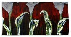 Arum Lillies Hand Towel