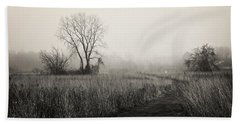 As The Fog Rolls In Hand Towel