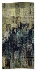 Hand Towel featuring the painting Ascension - C03xt-159at2c by Variance Collections