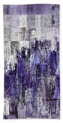 Hand Towel featuring the painting Ascension - C03xt-166at2c by Variance Collections
