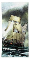 F  758  Asgard 11 Often Sailed Along The Wild Atlantic Way Bath Towel