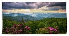 Asheville Nc Blue Ridge Parkway Scenic Landscape Photography Hand Towel