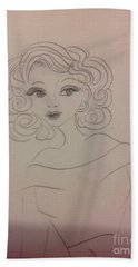 Ashley Barbour Hand Towel by Philip Bracco