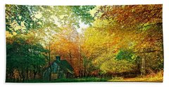Ashridge Autumn Hand Towel by Anne Kotan