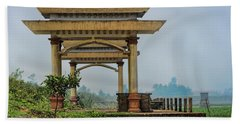 Asian Architecture I Bath Towel by Chuck Kuhn