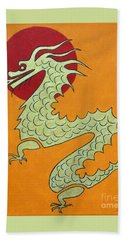 Asian Dragon Icon No. 1 Hand Towel