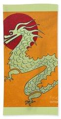 Asian Dragon Icon No. 1 Bath Towel