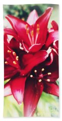 Asiatic Lilies Hand Towel